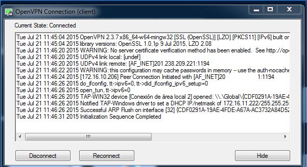 Configurar Openvpn Cliente Help Center