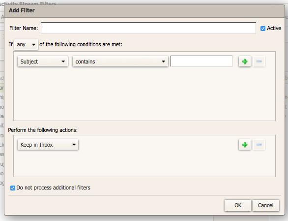 Creaci n de filtros en zimbra webmail help center for Mail zimbra ministerio del interior