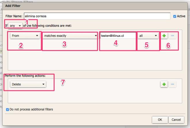 Creación de filtros en Zimbra Webmail – Help Center